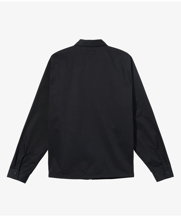 Stussy Stussy Zip Up Work Ls Shirt Black