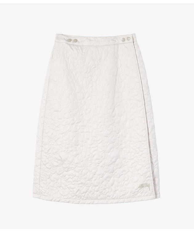 Stussy Stussy Ritters Quilted Skirt Stone