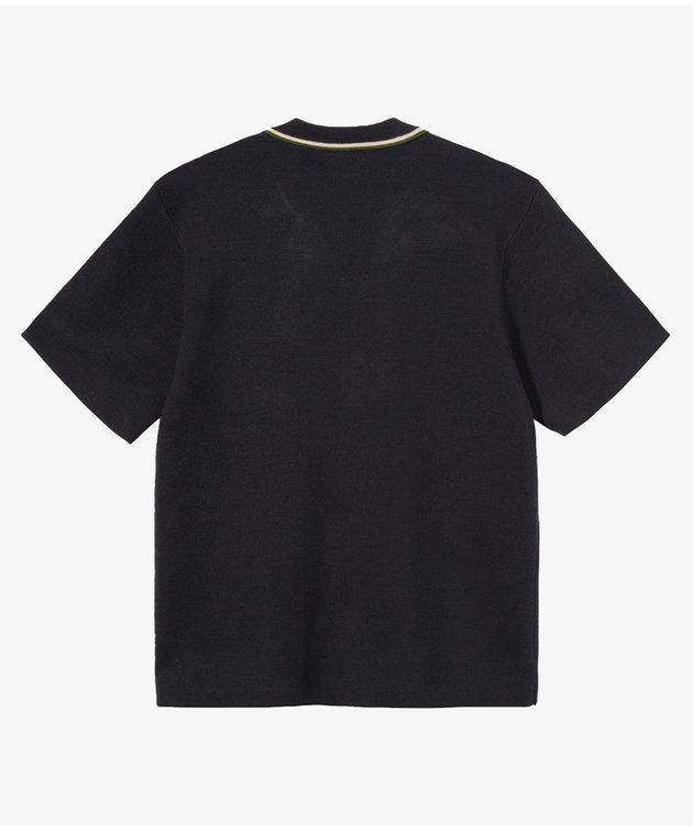 Stussy Stussy Stripe Edge Knit Shirt Navy