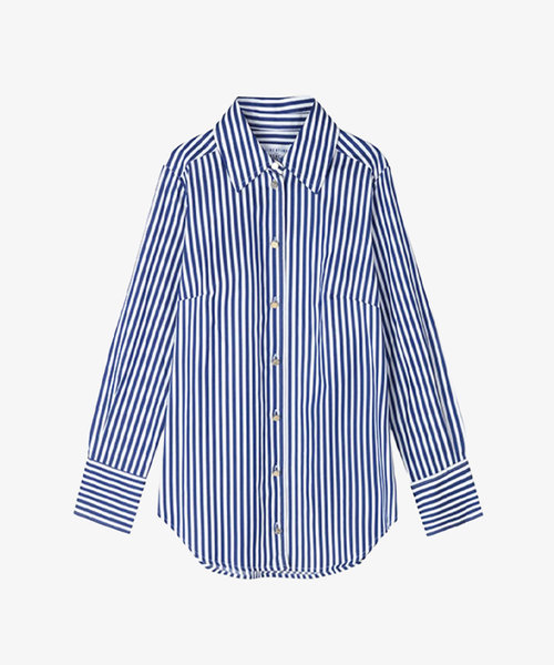Libertine Chablis Shirt Royal Stripe