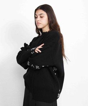 Aries Aries Reconstructed Jumper Merino Black