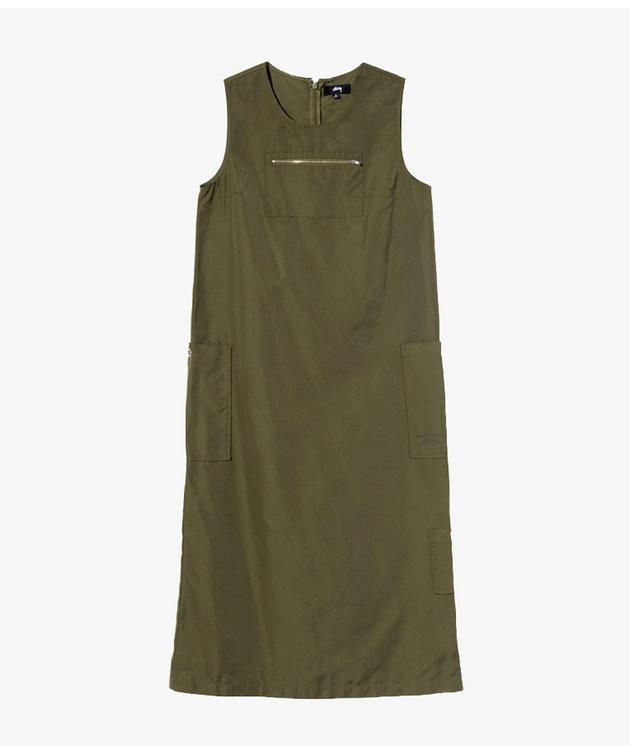 Stussy Stussy Palm Cargo Dress Olive