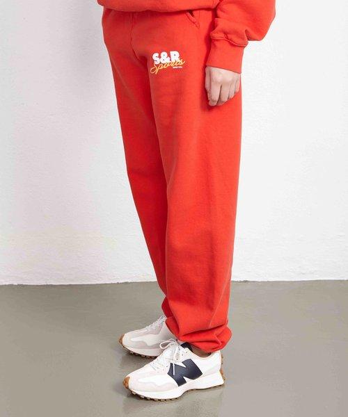 Sporty & Rich Sports Sweatpants Cherry