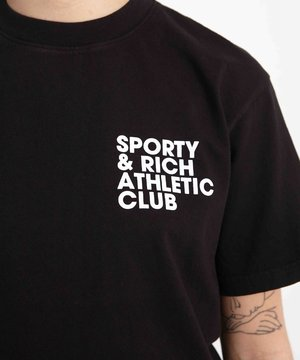 Sporty and Rich Sporty & Rich Exercise Often T-Shirt Black