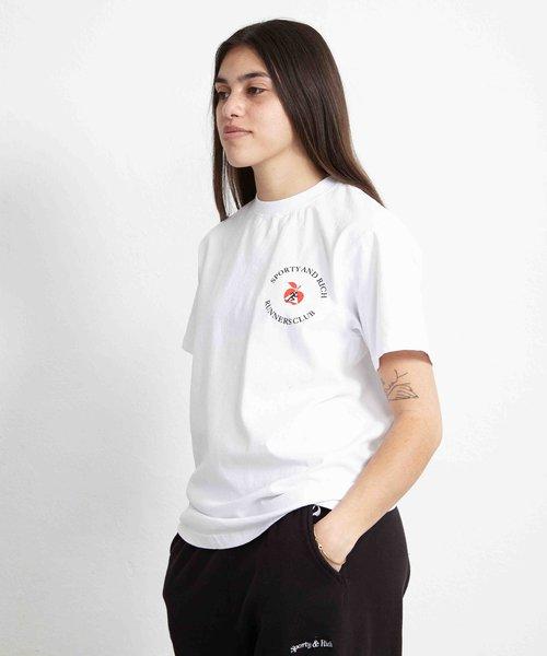 Sporty & Rich Big Apple T-Shirt White