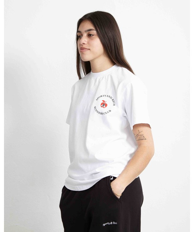 Sporty and Rich Sporty & Rich Big Apple T-Shirt White