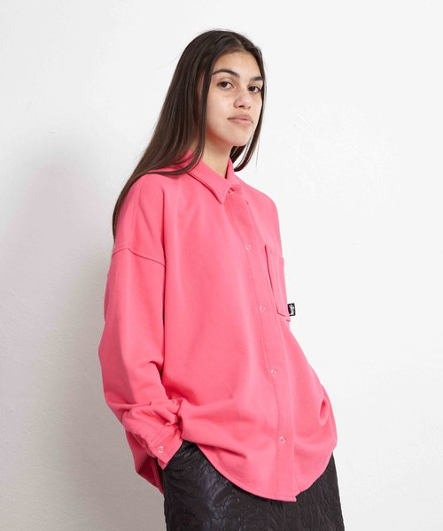 Stussy Huron Shirt Hot Pink