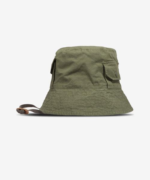 EG Explorer Hat Olive Cotton Ripstop