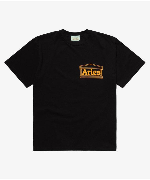 Aries Aries Noodles Short Sleeve Tee Black