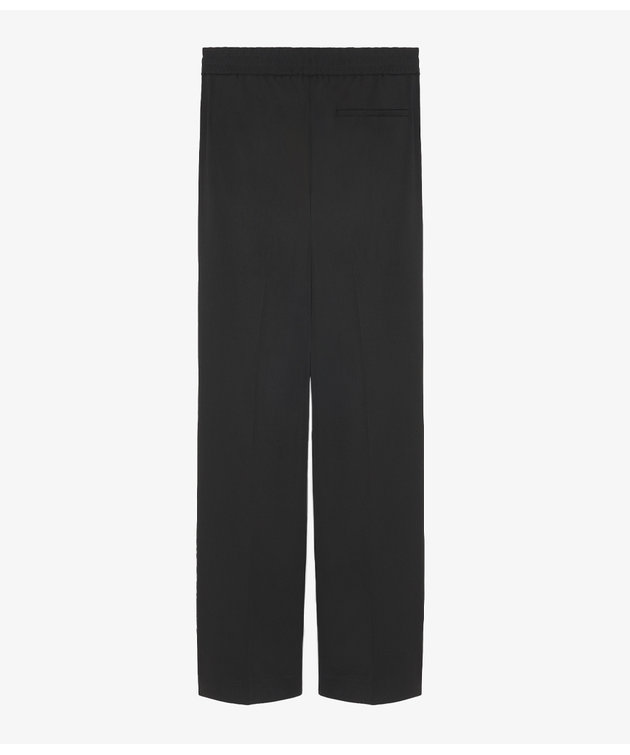 Maison Kitsune Kitsuné Elasticated Trousers Black