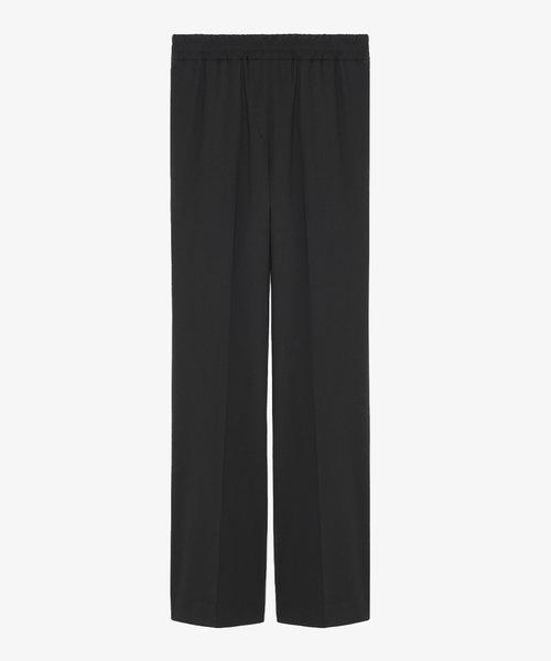 Kitsuné Elasticated Trousers Black