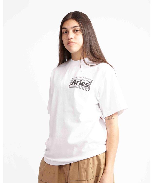 Aries Aries Chi SS Tee White