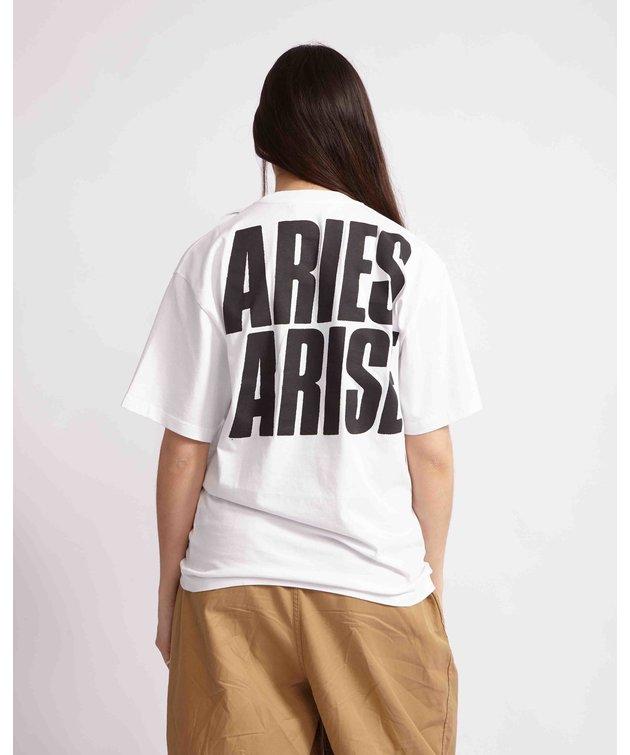 Aries Aries Mr Crane's Girl SS Tee White