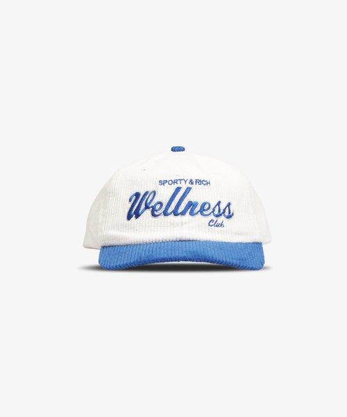 Sporty & Rich Wellness Club Hat White