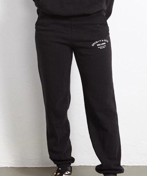 Sporty & Rich Wellness Studio Sweatpants Noir
