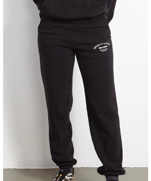 Sporty and Rich Sporty & Rich Wellness Studio Sweatpants Noir