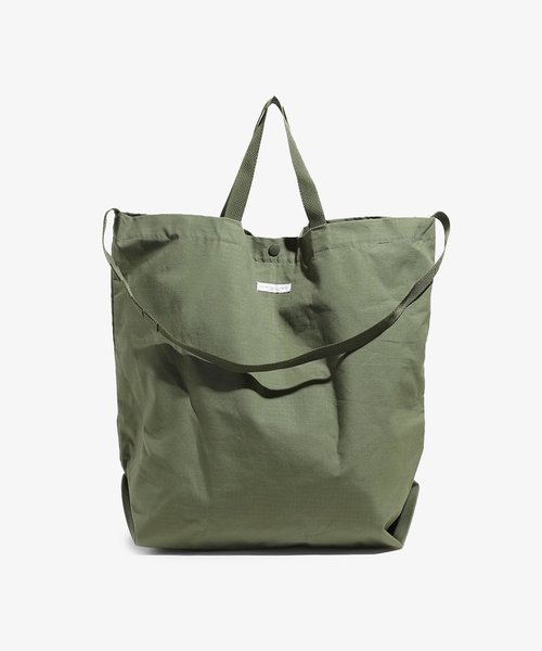 EG Carry All Tote Olive Cotton Ripstop