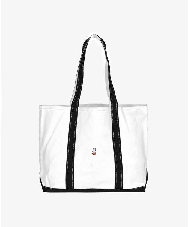 POP Trading Company POP Miffy Beach Bag Offwhite/Black