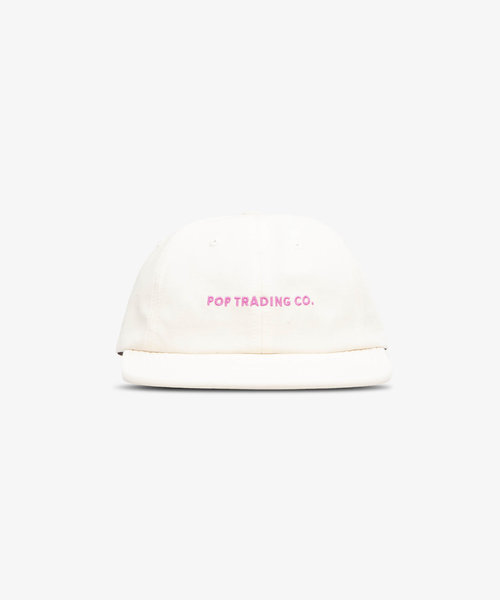 POP Flexfoam 6 Panel Hat Offwhite/Pink