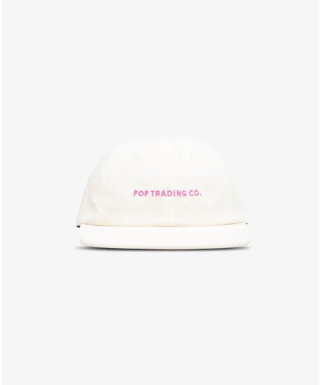 POP Trading Company POP Flexfoam 6 Panel Hat Offwhite/Pink