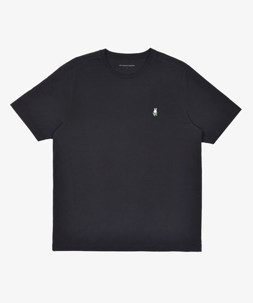 POP Miffy Dancing Embroidery T-Shirt Black