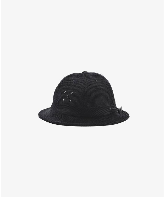 POP Trading Company POP Miffy Cord Bell Hat Black