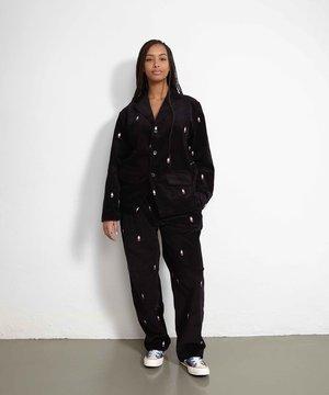 POP Trading Company POP Miffy Suit Jacket Black