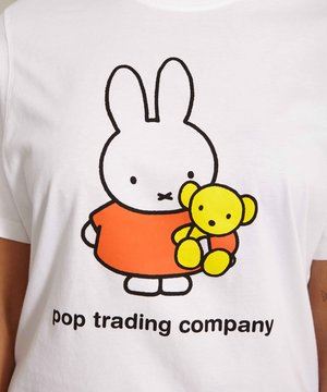 POP Trading Company POP Miffy Bear T-shirt White