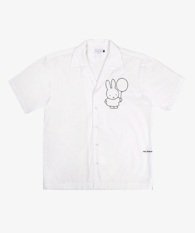 POP Trading Company POP Miffy Shirt White