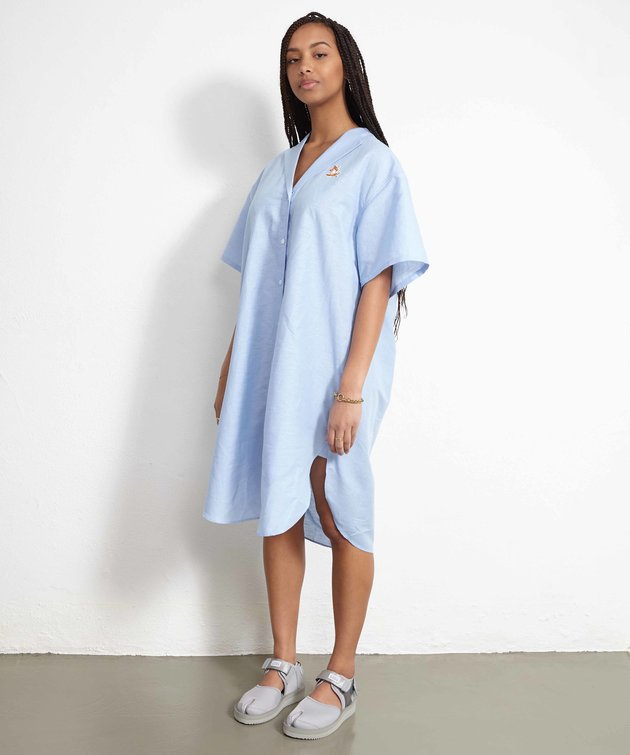 Maison Kitsune Kitsuné Day Dress Blue