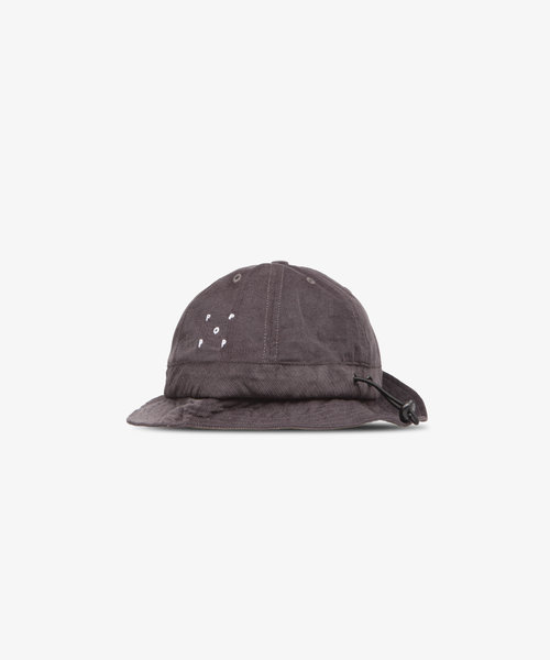 POP Bell Hat Anthracite Minicord