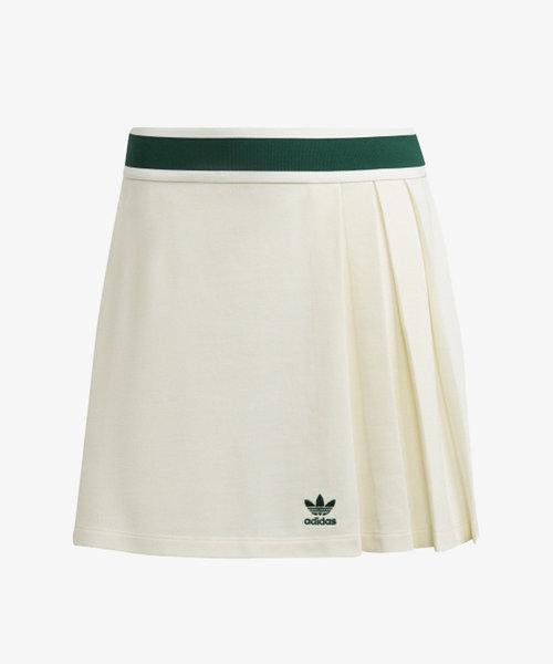 adidas Tennis Skirt Off White/Green