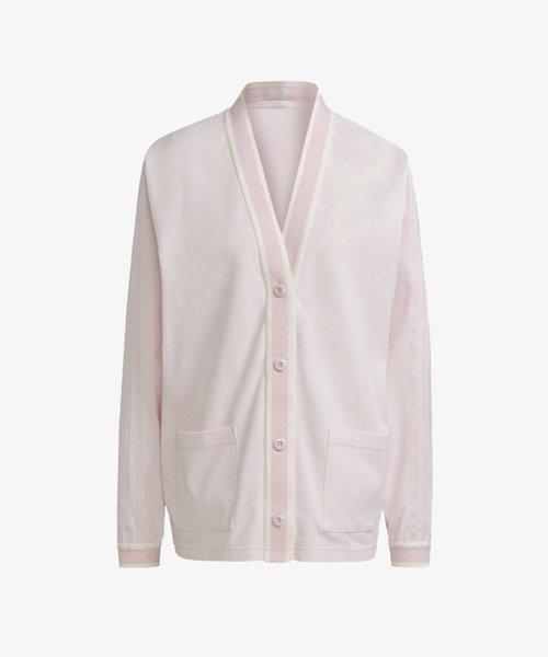 adidas Cardigan Pink/Off White