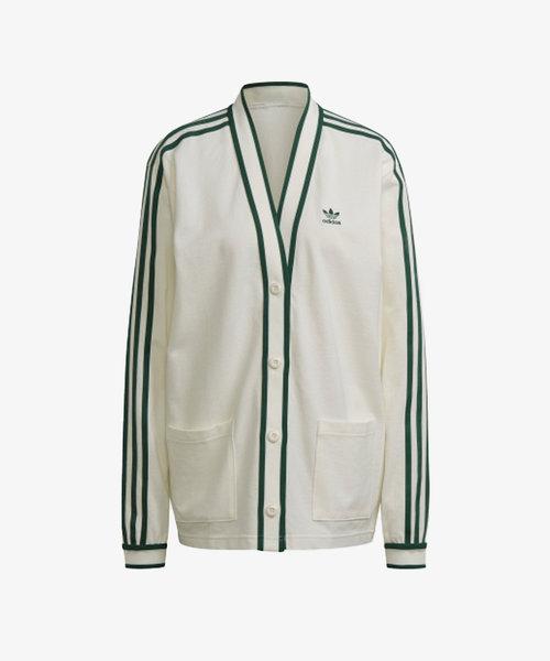 adidas Cardigan Off White/Green