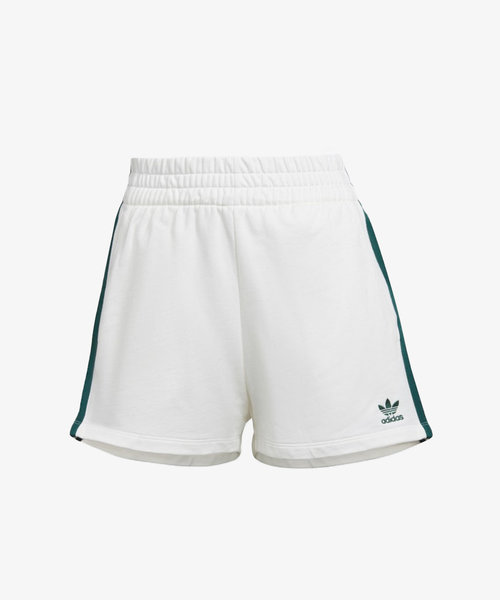 adidas 3 Stripes Short Off White/Green