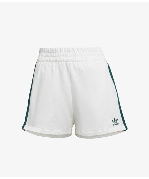 Adidas adidas 3 Stripes Short Off White/Green