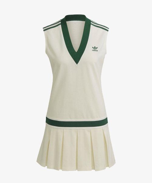 adidas Tennis Dress Off White/Green