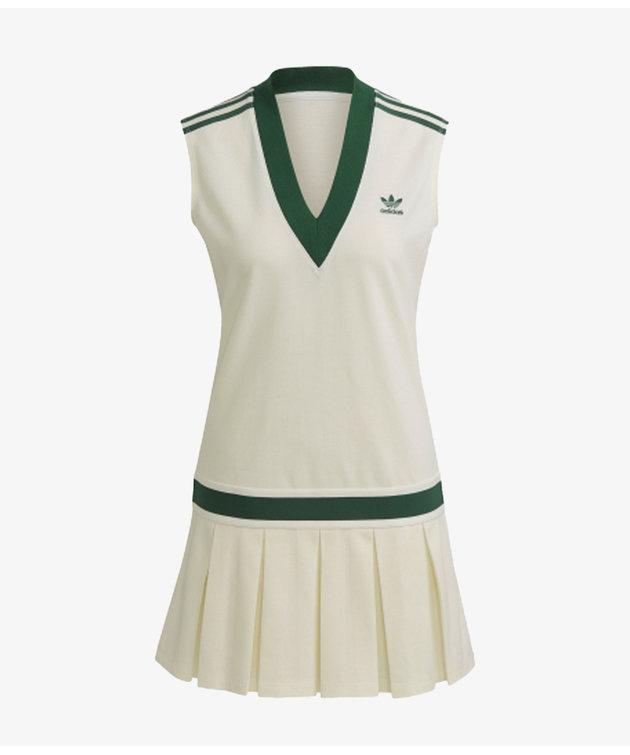 Adidas adidas Tennis Dress Off White/Green