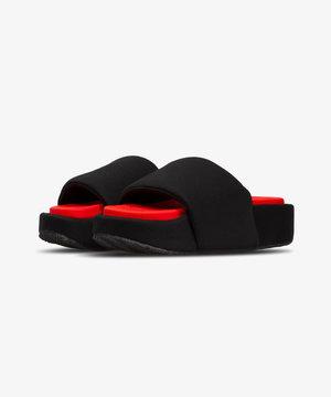 Y-3 Y-3 Slide Black/Red