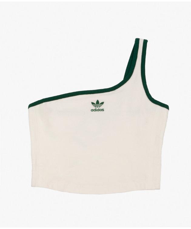 Adidas adidas Asymetric Top Off White/Green