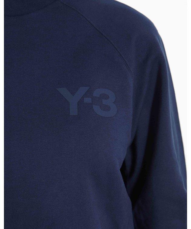 Y-3 Y-3 W Classic Chest Logo Crewneck Navy