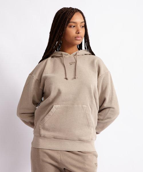 Reebok Natural Dye Hoodie Grey