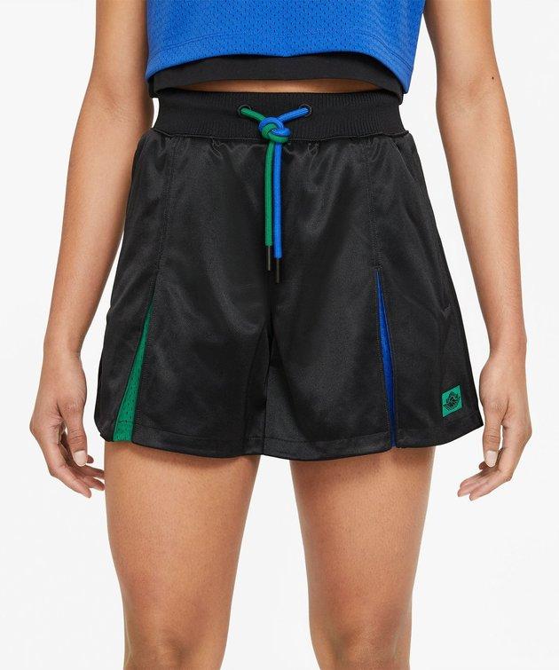 Nike Jordan X Aleali May Pleated Short Black
