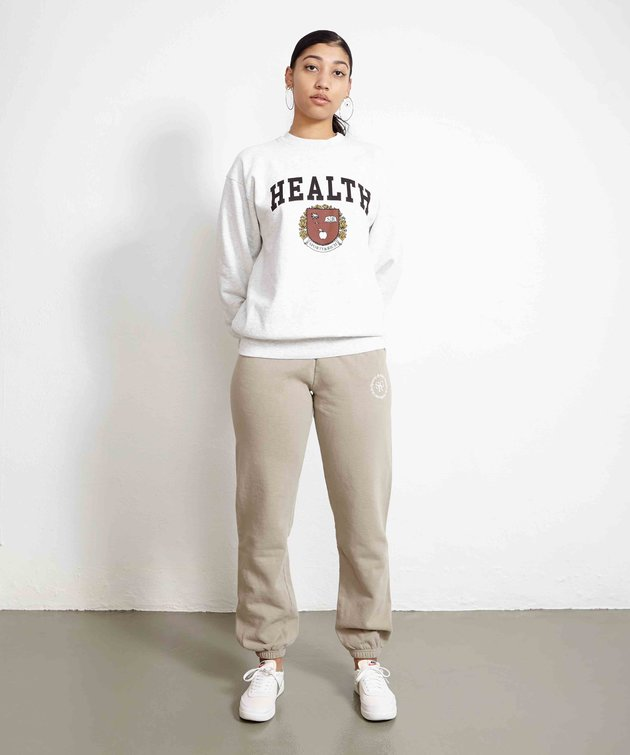 Sporty and Rich Sporty & Rich Diana Crewneck Heather Gray