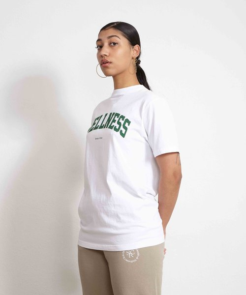 Sporty & Rich Wellness Ivy T-Shirt White