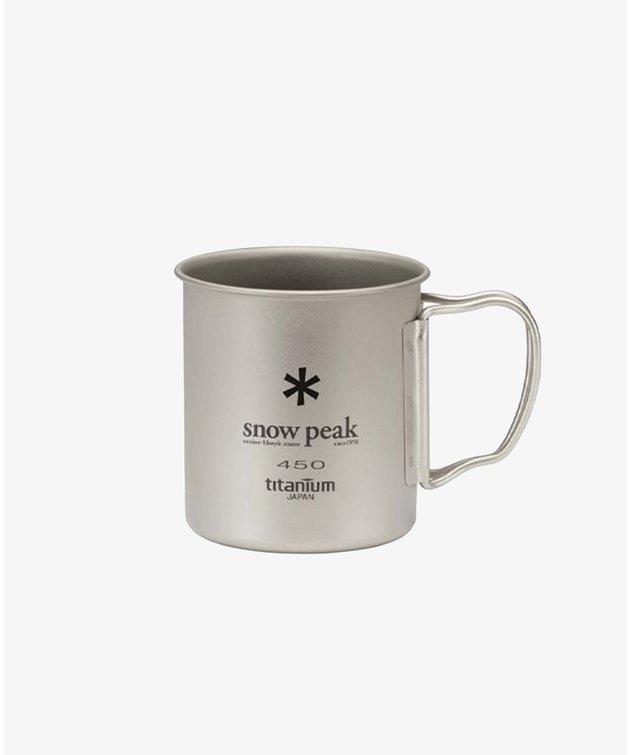 Snow Peak Snow Peak Titanium Single Cup 450