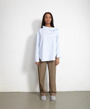 Maison Kitsune Kitsuné Shirt Blouse Blue Stripe