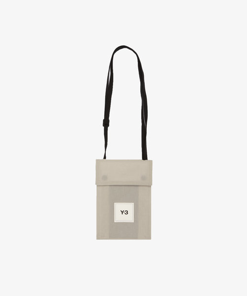 Y-3 CH3 Pocket Bag Clear Brown