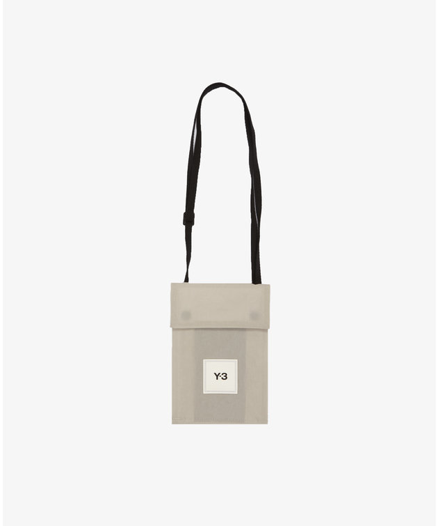 Y-3 Y-3 CH3 Pocket Bag Clear Brown