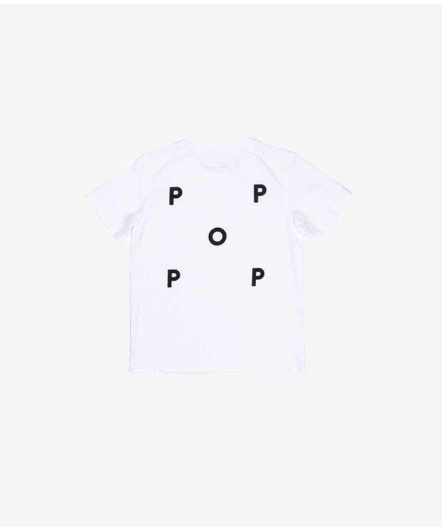 POP Trading Company POP NOS Logo Kids T-shirt White/Black